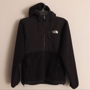 The North Face Brown Denali Jacket W/ Hood